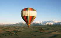 Hot Air Ballooning ex Christchurch