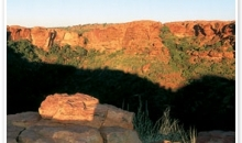 Kings Canyon & Outback Panorama (ending at Ayers Rock)
